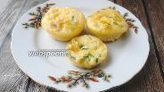 Фото рецепта Яичные маффины с курицей и паприкой