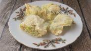 Фото рецепта Варёный омлет с кабачком и курицей