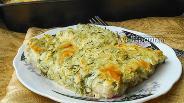 Фото рецепта Запеканка из кабачков и цветной капусты