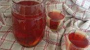 Фото рецепта Компот из замороженной вишни и кураги