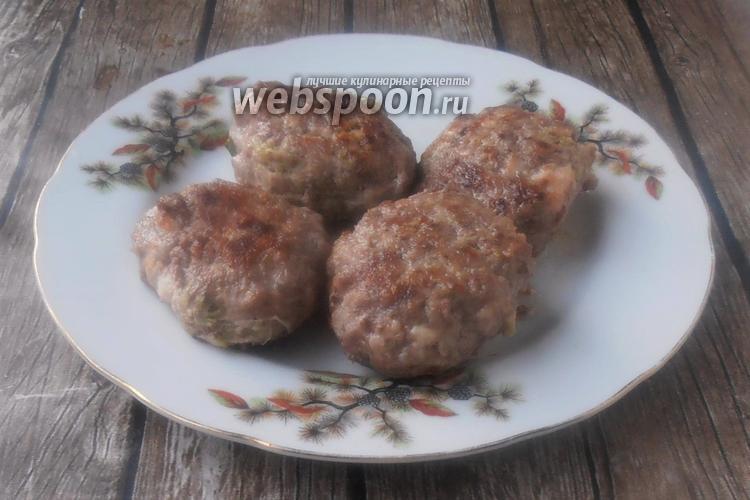 Фото Котлеты из говядины и курицы по-восточному
