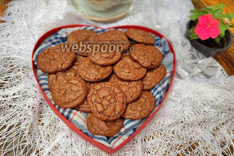 Фото Шоколадное печенье «Брауни»