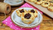 Фото рецепта Печенье с солёной соломкой и шоколадом