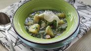 Фото рецепта Окрошка с молодой картошкой