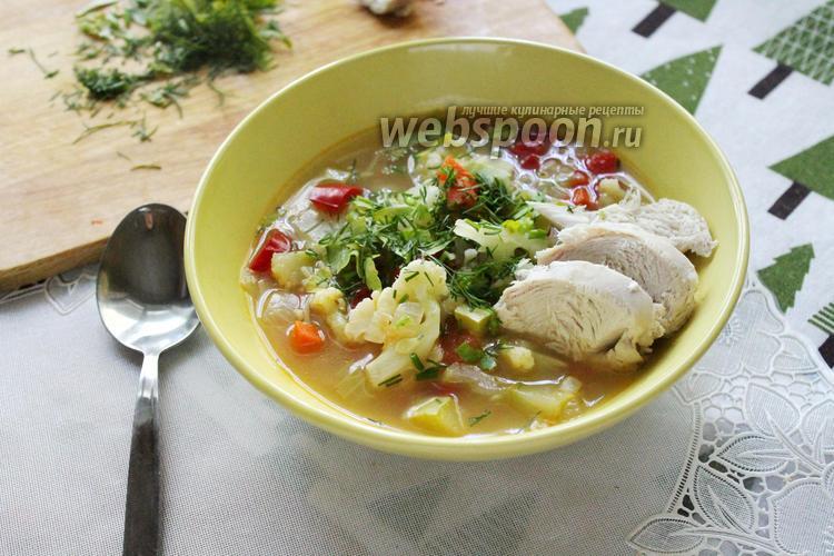 Фото Суп из ранних овощей