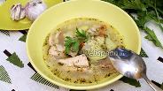 Фото рецепта Рыбный суп с булгуром