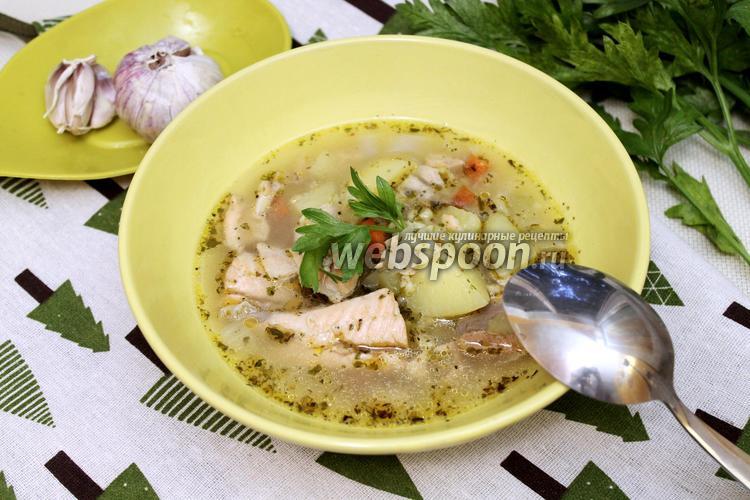 Фото Рыбный суп с булгуром
