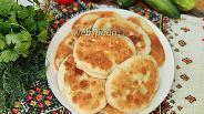 Фото рецепта Тонкие жареные пирожки с картошкой