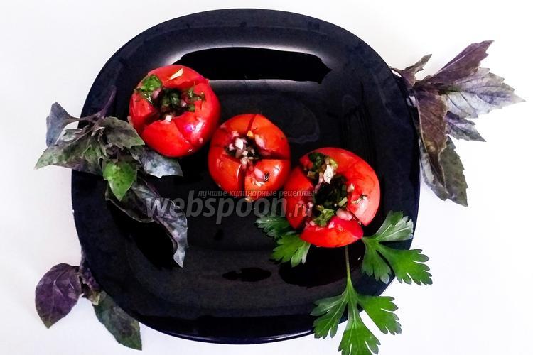 Фото Помидоры кимчи с соевым соусом