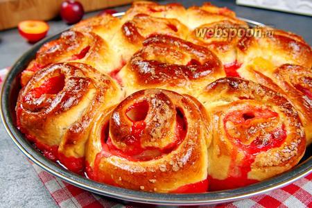 Пироги с яблоками и сливами. Видео видео рецепт