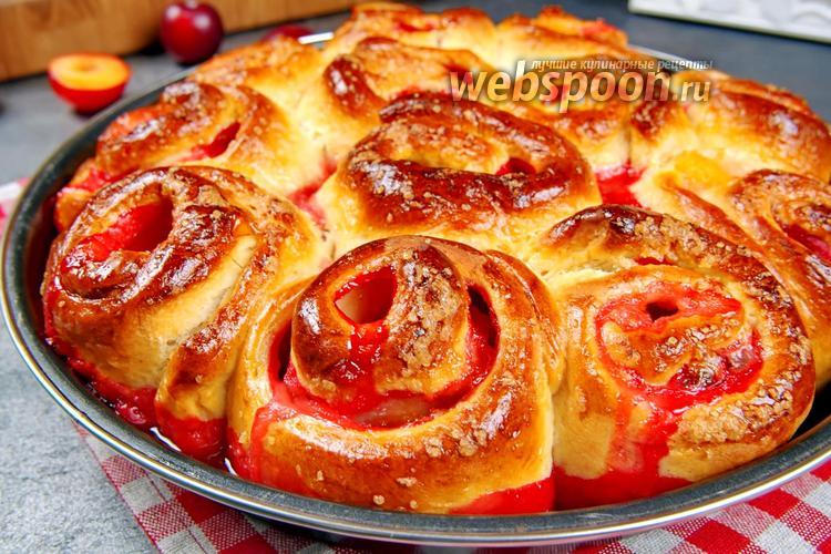 Фото Пироги с яблоками и сливами. Видео