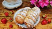 Фото рецепта Булочки с клубничной начинкой