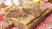 Фото рецепта Хлеб из отрубей и псилиума без муки и дрожжей
