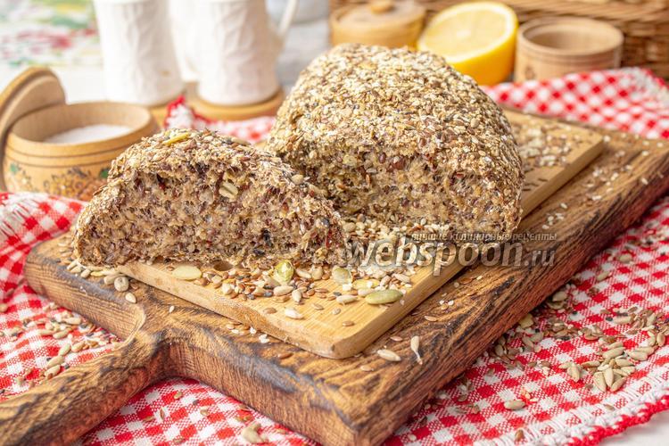 Фото Хлеб из отрубей и псилиума без муки и дрожжей