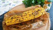 Фото рецепта Кукуруза запеченная с копчёной паприкой и базиликом