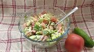 Фото рецепта Салат из капусты с помидорами и майонезом