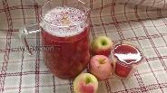Фото рецепта Компот из дикой сливы и яблок
