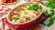 Фото рецепта А-ля рататуй с кабачком и фаршем