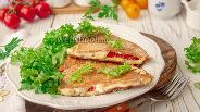 Фото рецепта Тортилья из цельнозерновой муки с сыром и яйцом