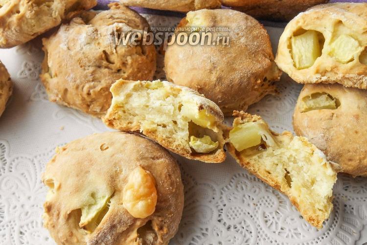 Фото Сконы с кабачком и сыром на сметане