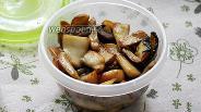 Фото рецепта Белые грибы жареные на зиму