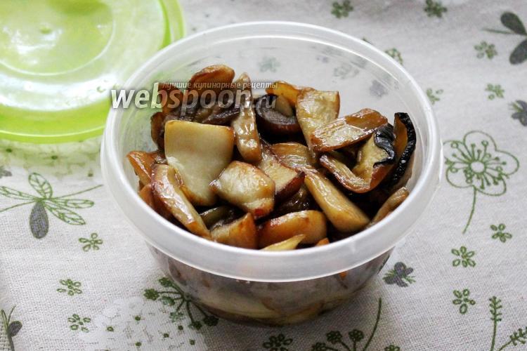 Фото Белые грибы жареные на зиму