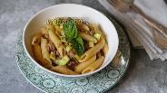 Фото рецепта Макароны с кабачками и фаршем