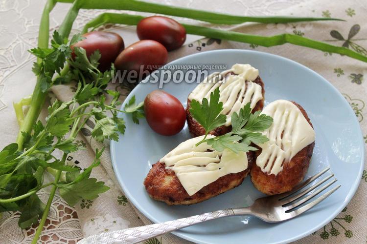 Фото Щучьи котлеты с сыром
