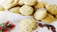 Фото рецепта Хрустящее печенье с семенами льна