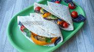 Фото рецепта Тортилья с овощами