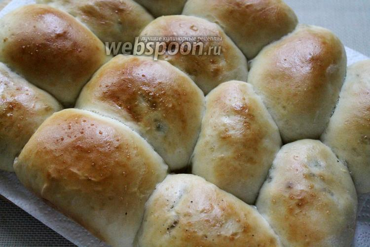 Фото Пирожки с мясом и капустой в духовке