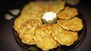 Фото рецепта Драники из кабачка и картофеля
