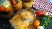 Фото рецепта Помидоры с луком на зиму