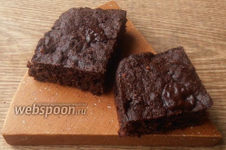 Фото Бисквитное печенье с шоколадом и арахисом