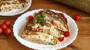 Фото рецепта Кабачковые блины с фаршем