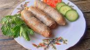 Фото рецепта Ветчинные колбаски-гриль