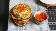 Фото рецепта Кабачковые оладьи по-турецки