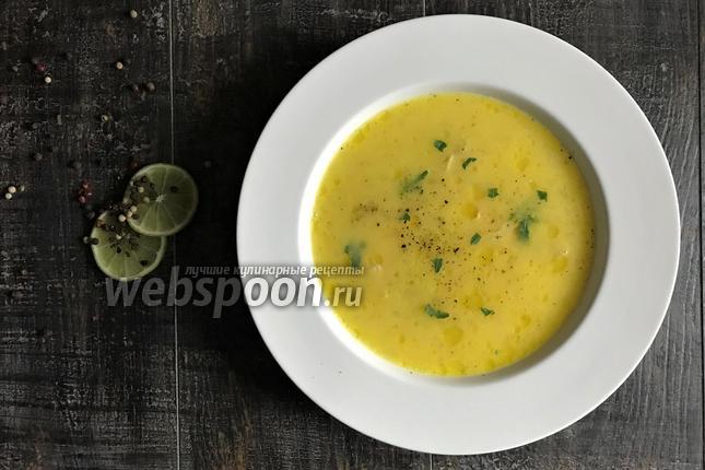 Суп по-гречески с яйцами и лимоном