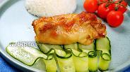 Фото рецепта Рулетики из куриных бёдер. Видео