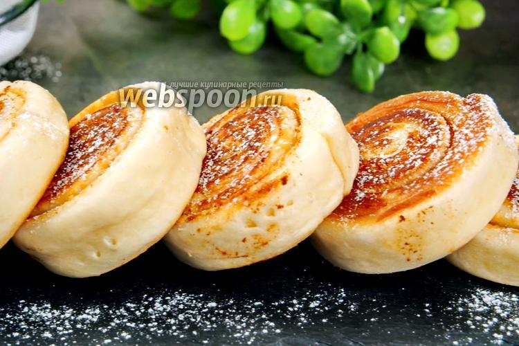 Фото Быстрые сладкие булочки на сковороде. Видео