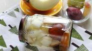 Фото рецепта Компот из дыни с грушей и сливой на зиму