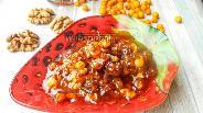 Фото рецепта Варенье из облепихи с грецкими орехами