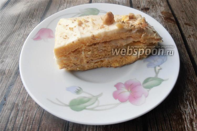 Фото Кето тортик без муки из яиц и сливочного сыра