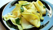 Фото рецепта Ленточки из кабачков