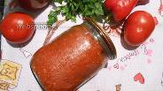 Фото рецепта Томатная паста с болгарским перцем и паприкой