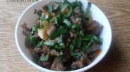 Фото рецепта Гуляш из свиного сердца с овощами