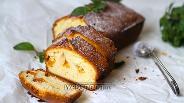 Фото рецепта Кекс с персиками