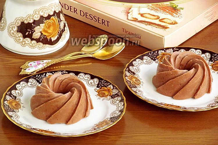 Фото Десерт из бананов, какао и кокосового масла
