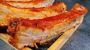 Фото рецепта Сочная «Корона» из рёбер. Видео