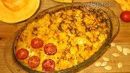 Фото рецепта Запеканка с курицей и тыквой